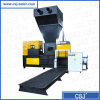 CE, ISO certificate hot selling automatic waste paper scrap and cardboard compressing machine for recycling