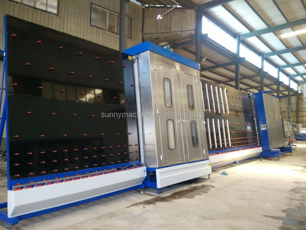 glass washing machine /double glazing machine