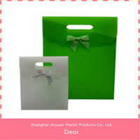 OEM factory and customized durable pp plastic tote carrier bag
