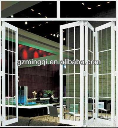 pvc plastic folding door