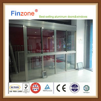 Alibaba china special style aluminum curved sliding window
