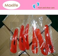 15cm Professional durable logo printed custom short plastic shoe horn,shoe lifter