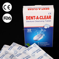 OEM Denture Sterilization Denture Tablets Cleansing