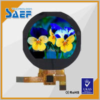 1.22 inch small round spi lcd displays 240*204 IPS circular round smart watch