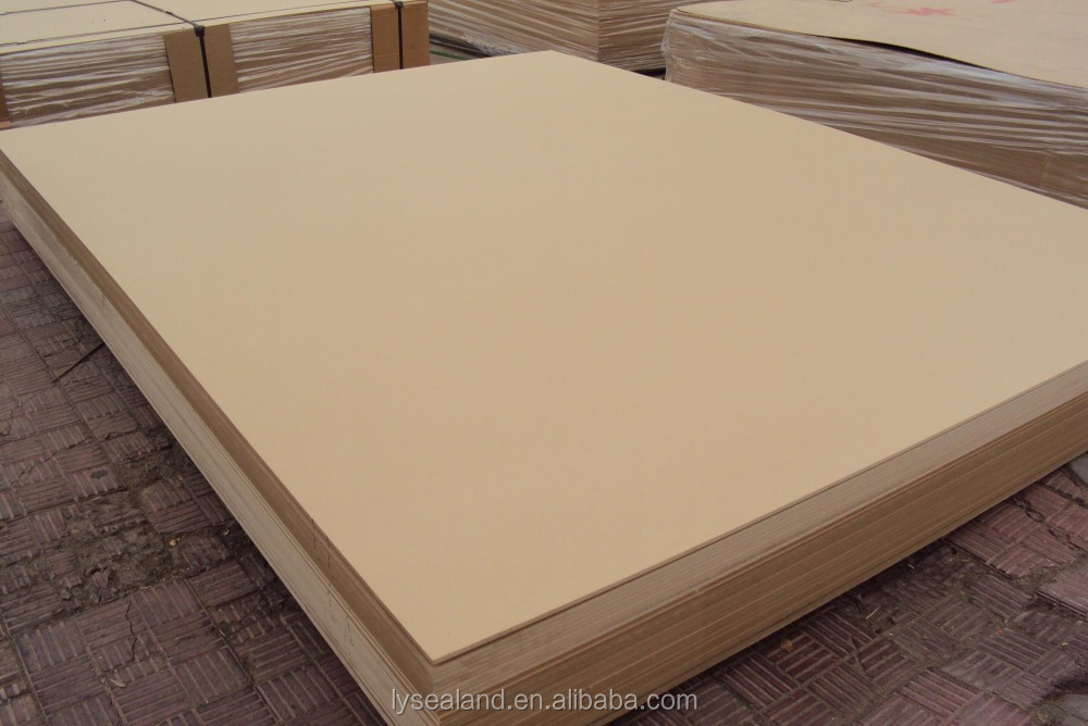 4'x8' plain /Thin Melamine Faced MDF With Poplar Core For Furniture,Quality colorful melamined MDF board of wood fiber core f