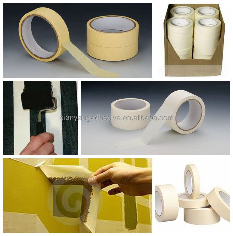 Car painting masking tape with free sample Guangdong manufacturer