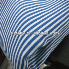 T/C blue and white striped medical fabric for bed sheet