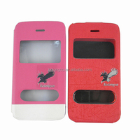 for iphone 5s case double window cover from competitive factory wholesale
