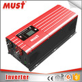 MUST china best manufacturers solar PV 3000w 12v 24v 48v inverter 220v single phase