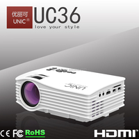 UNIC 2016 New portable projector led projector home cinema projector UC36