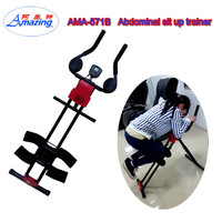 Abdominal Crunch Machine Exercise, vertical Ab Body Crunch 5 Minutes Shaper