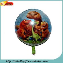 Factory Dragon series of carton figure 18inch aluminum foil balloon for decorating