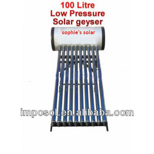 red fire solar water heater