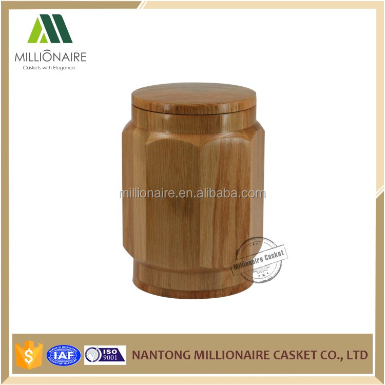 China caskets manufacturer wooden urns