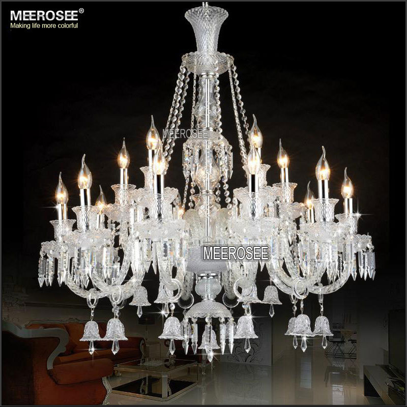 New Arrival Cristal Chandelier Candle Bulbs Crystal Vintage Lighting for Hotel Lobby MD2397