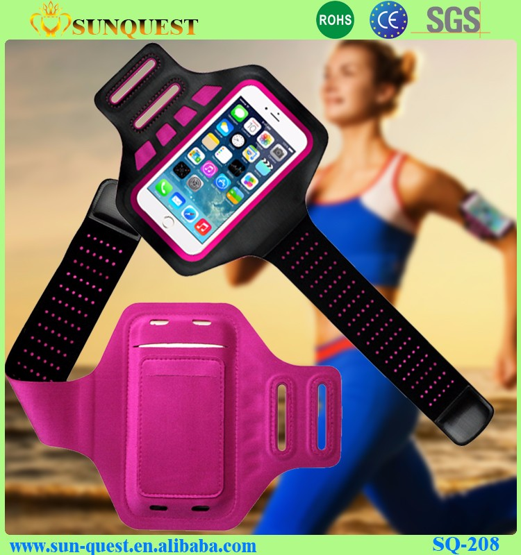 Running Armband for cellphone Neoprene Mobile Arm Band Sport Bag Case Cycling Pouch