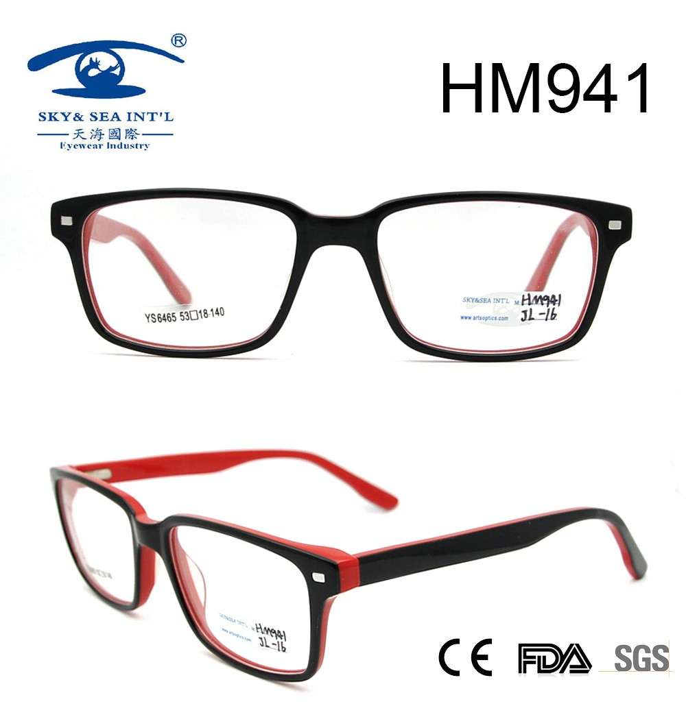 2017 new style fashion best seller acetate optical frame