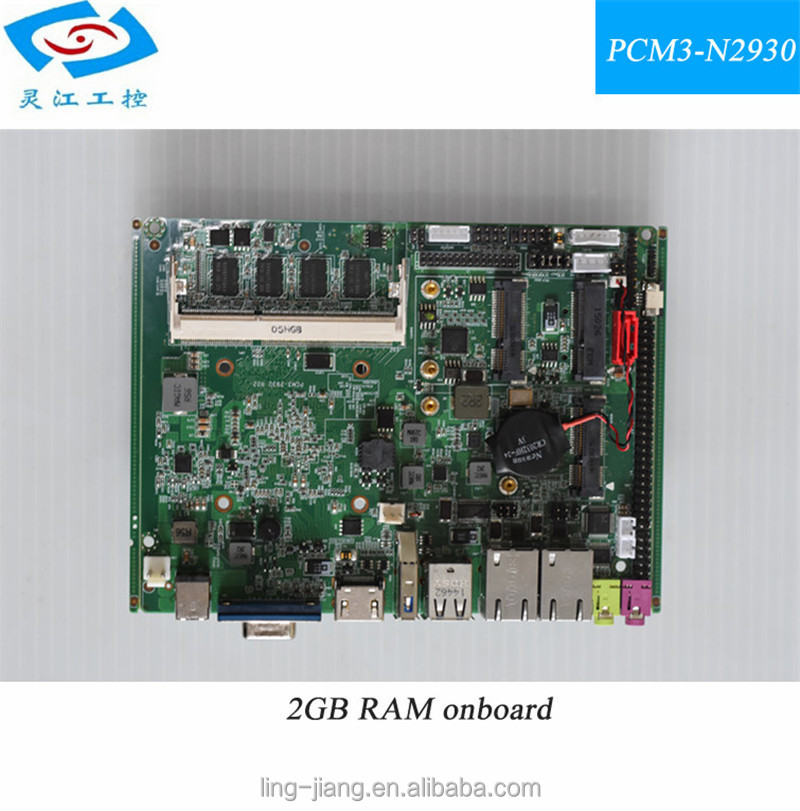 notebook motherboard J1900 2.0GHZ 2GB RAM Hot on sale!!! Industrial Motherboard Micro mini mainboard
