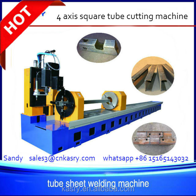 cnc tube/pipe plasma cutting machine for agricultural machinery manufacturing