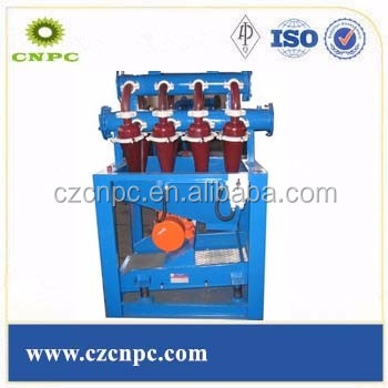 Oilfield drilling fluids desilter/mud desilter machine new goods/new product