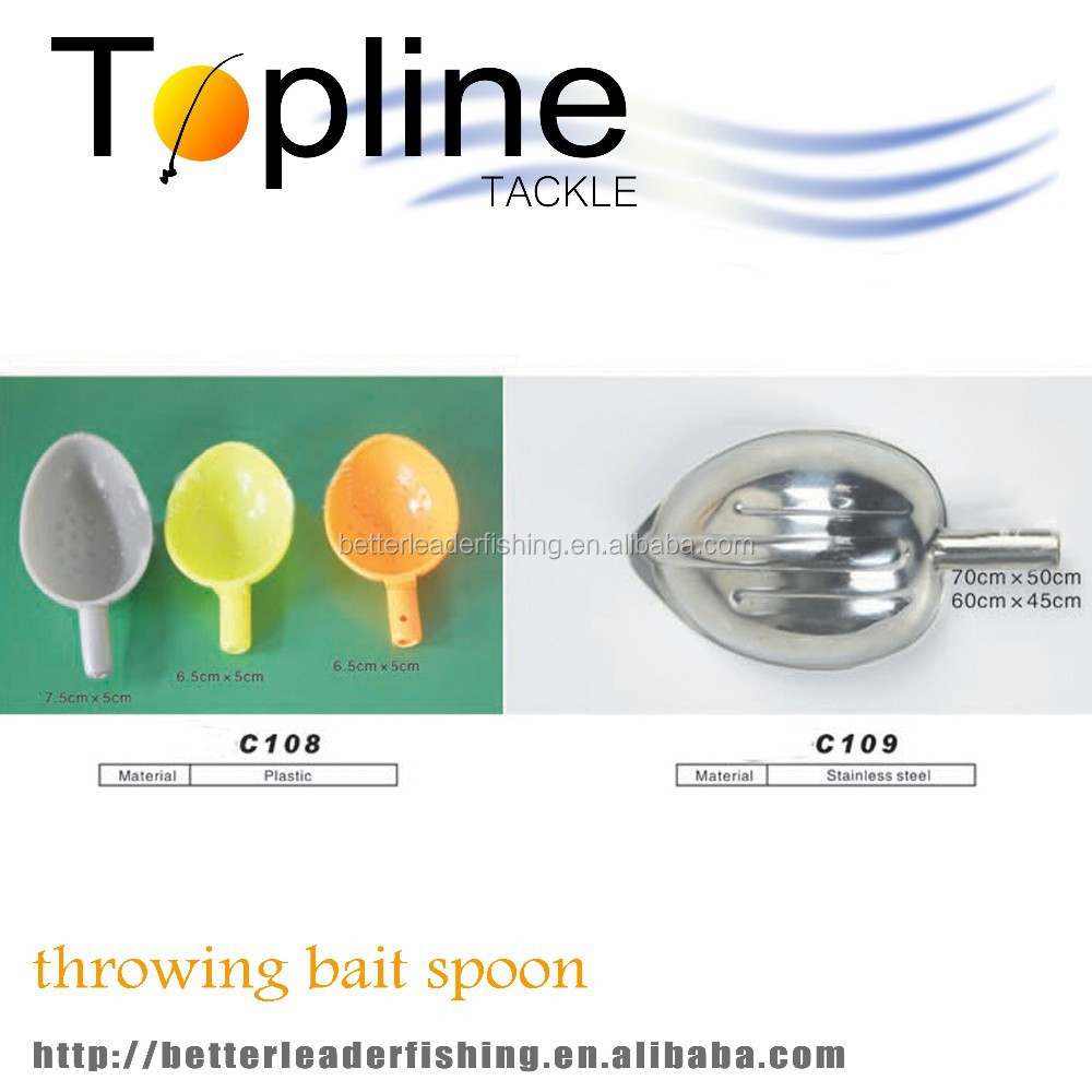 cheap chinese wholesale bait throwing spoon carp fishing tackle