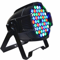 54x3w led par can stage disco dmx lighting rgb IP20 indoor use hot sale in dragon mart dubai