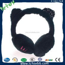 pink plush safety earmuff