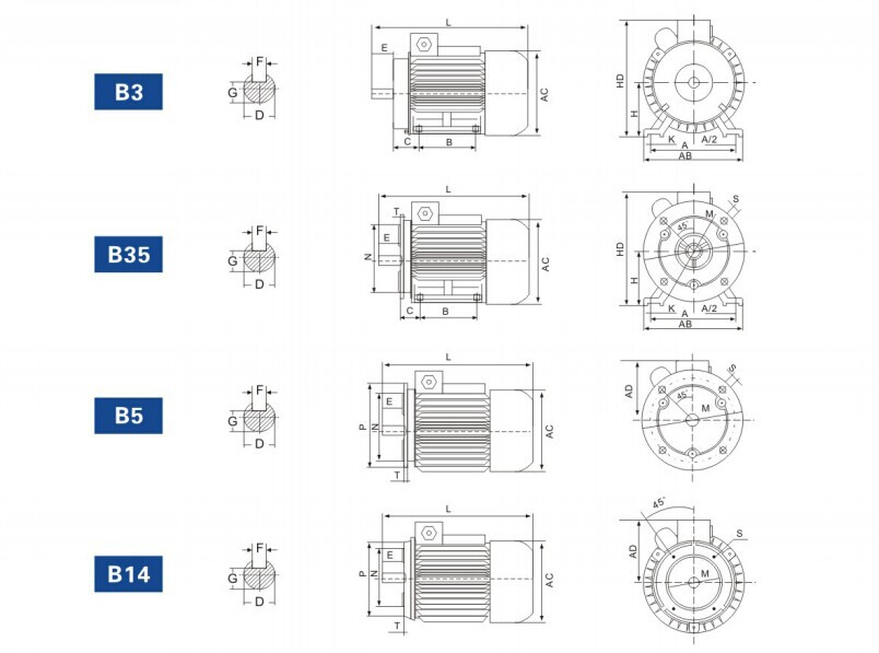 Yy Series Single Phase Capacitor Run Induction Motor Buy