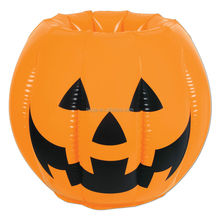 Customized plastic decoration using halloween inflatable pumpkin