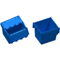 Wholesale 750x570x625mm 172L plastic moving turnover boxes