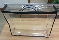 Transparent pvc clear bag with zipper for duvet/quilt/blanket/pillow