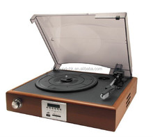 High End USB Vinyl Turntable Record Player