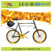 2017 new type hot sale gold cool fixed bike /fixed gear bike from china factory