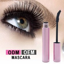 2017 private label 3d fiber lash mascara with clear