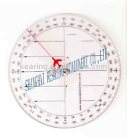 kearing #KRP-2 Round Aviation Square Set direction of north compass