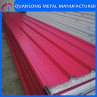 Colored coated corrugate zinc aluminium roofing sheet