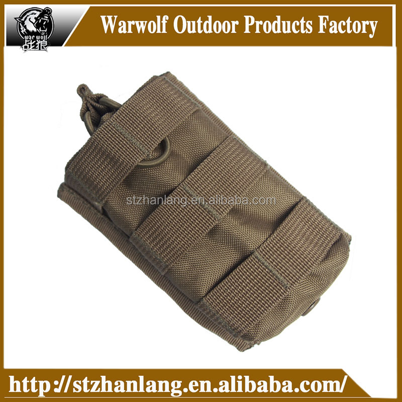 Universal Tactical Ammo Cartridge Nylon Shell Pouch Military Molle Waist Bag Small Bags Utility Camo Ammo Pouch