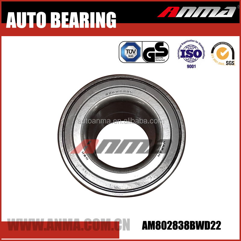 Manufacturing auto front wheel hub bearing for vios 38BWD22