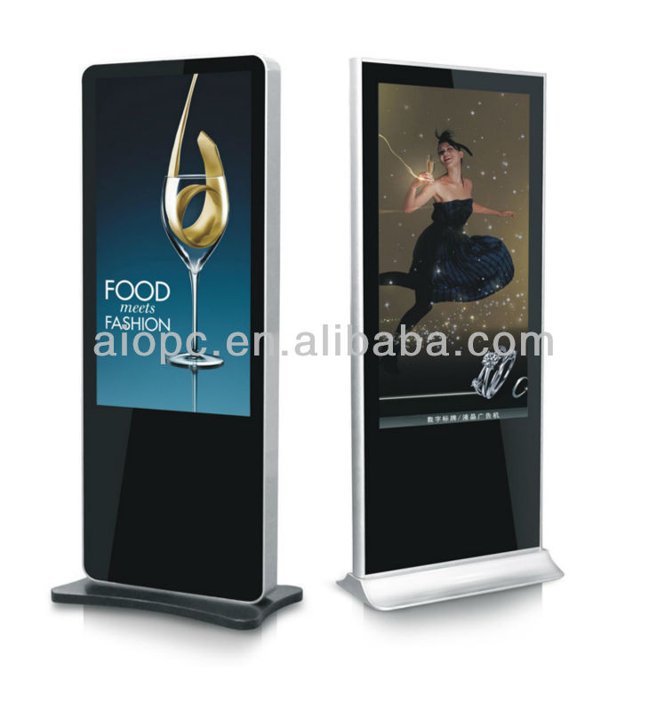 42 inch standalone lcd advertising media player