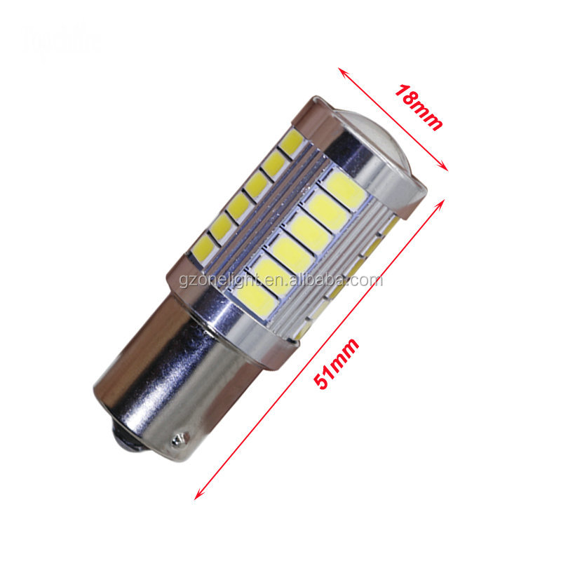 S25 1156/1157 BA15S BAY15D PY21/5W Car LED Bulb Super White Car Brake Reverse LED Light 12V