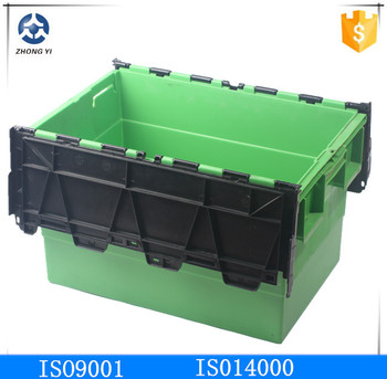 Recyclable Plastic Moving Tote Box