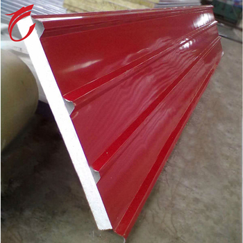 the 950mm white metal sheet coated steel eps fire proof panel