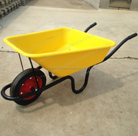 WB3800 Garden Wheelbarrow Solid Rubber Tyre
