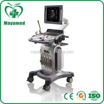 MY-A034A hospital equipment 4D color doppler Ultrasound scanner from china for pregnancy with trolley