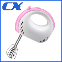 Household Electric Plastic Low Noise Hand Mixer Egg Beater