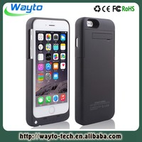 Wallet Battery CPhone Battery Case For Iphone 6 Power Bank Charging Wirelesss Protective Case