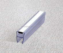 China taobao 180 degree B008GB screen pvc rubber magentic shower door side seal