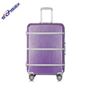 "Low Moq Cheap Abs 20""24""28"" Universal Wheels Travel Rolling Luggage Set Luggage Trolley Bags"