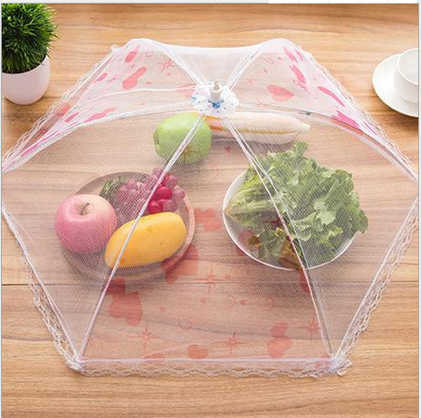Pop Up Mesh Screen fold able food cover umbrella