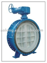 scotch-yoke operated butterfly valve